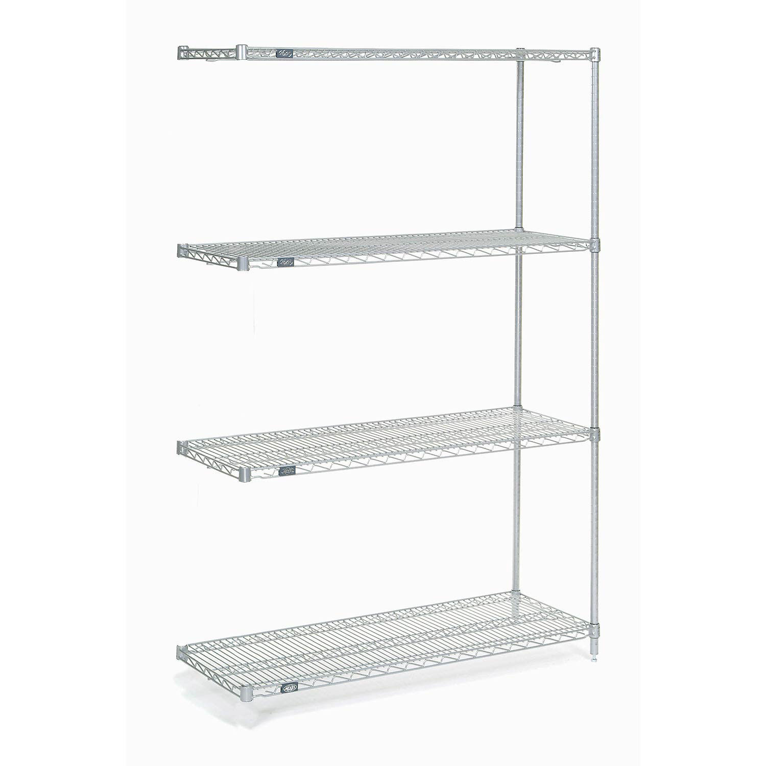 Details About Chrome Wire Shelving Add On 48 W X 14 D X 74 H