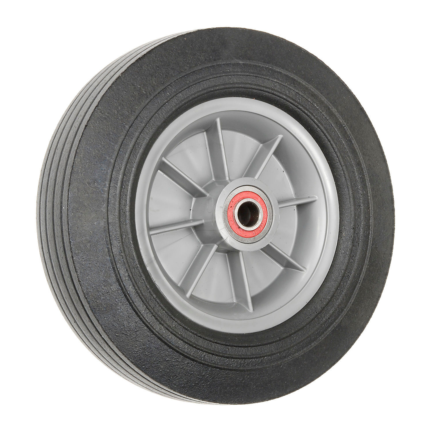 MAGLINER Hand Truck Replacement Wheels - Solid Rubber, Lot o