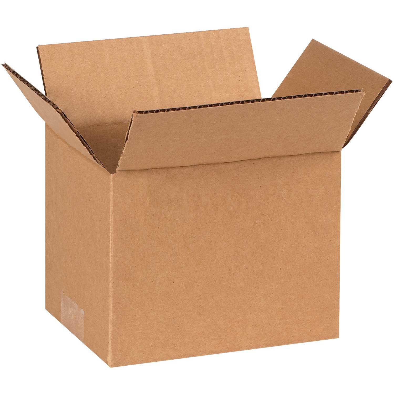 "9/""x9/""x4/"" Cardboard Corrugated Box 200lb Test//ECT-32 Lot of 25"