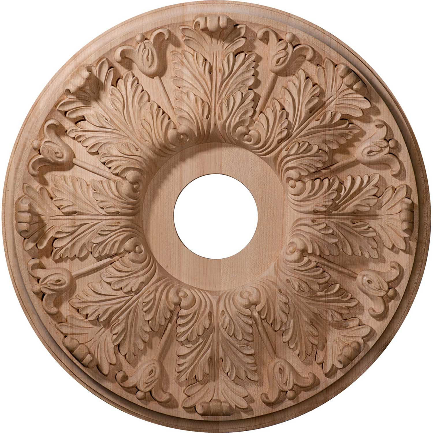 Ekena CMW20FLRO Carved Florentine Ceiling Medallion 20 OD x 1-3 4 D, Lot of 1