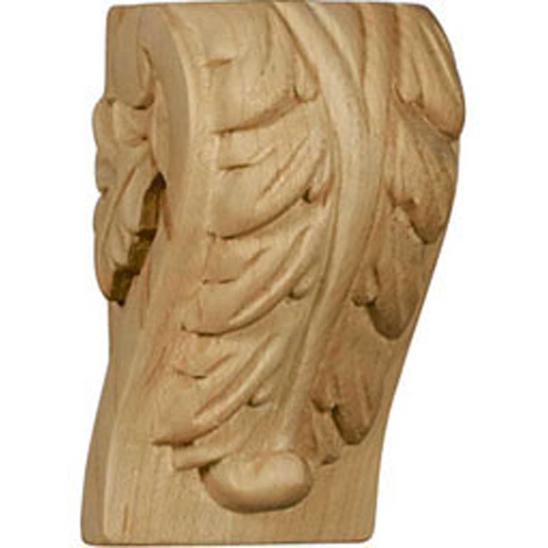 Ekena CORW03X02X06PTAL Extra Small Traditional Pilaster Corbel 3 W x 1-3 4 D x