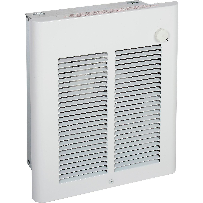 Berko® Small Room Fan-Forced Wall Heater, 2000/1500W, 2