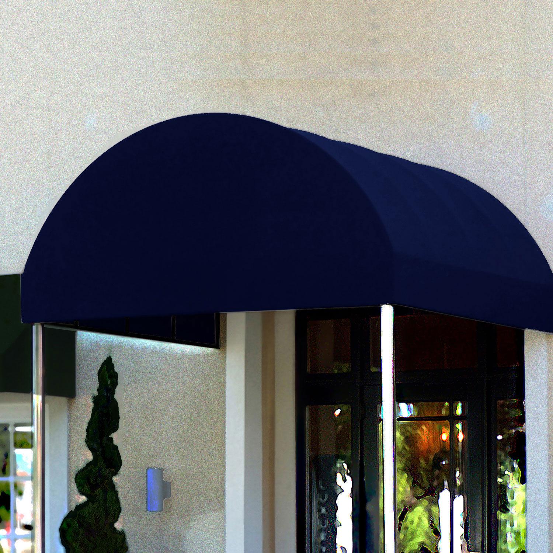 Awntech Entrance Canopy Navy Blue 6'W x 16'D x 8'H