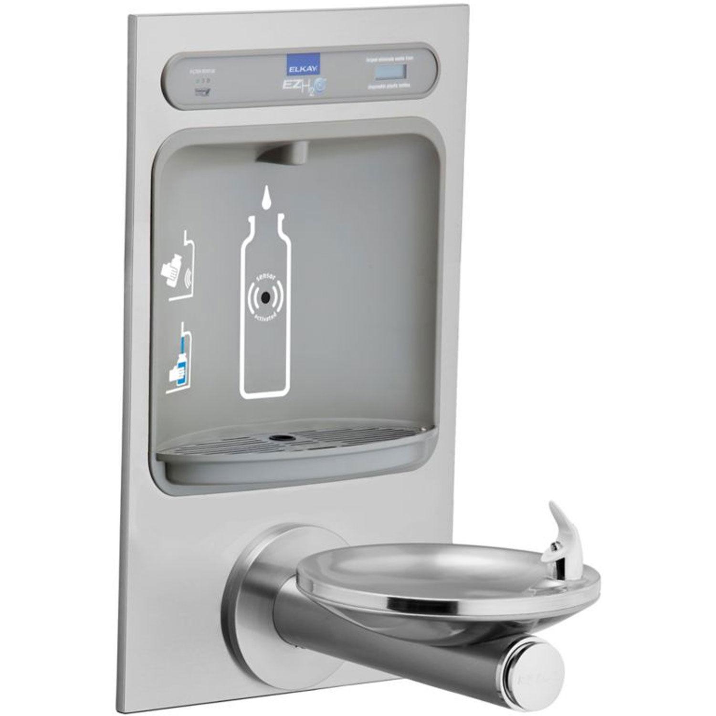 Details about Elkay Bottle Filling Station W/ Integral Swirlflo, Fountain,  Lot of 1