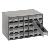 "AKRO-MILS Industrial Parts Cabinet - 17x11x11"" - (28) 2-1/4x10-1/2x2"" Drawers"