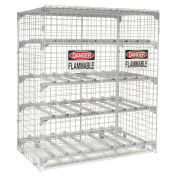 Horizontal Storage Cabinet, 12 Cylinder