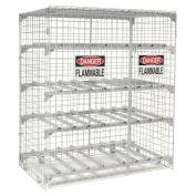 Horizontal Storage Cabinet, 16 Cylinder