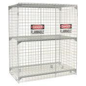 Vertical Storage Cabinet, 30 Cylinder