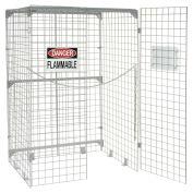 Vertical Storage Cabinet, 20 Cylinder