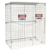 Vertical Storage Cabinet, 24 Cylinder