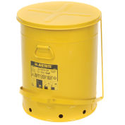 21 Gallon Oily Waste Can, Yellow