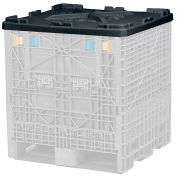Plastic Folding Bulk Container Lid TDP3032LID, 32x30, Lid Only