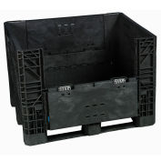 Buckhorn BI4840392010000 Folding Bulk Shipping Container, 48x40x39, 1600 Lbs. Capacity