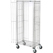 "Side Load Wire Tray Truck with 39 Tray Capacity, 30""L x 18""W x 69""H"