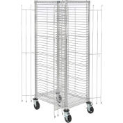 """Nexel End Load Wire Tray Truck with 39 Tray Capacity, 30""""L x 21""""W x 69""""H"""