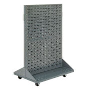 Mobile Double-Sided Rack, 36x25.5x55