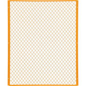 Machinery Wire Fence Partition Panel, 4' W