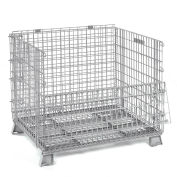 Folding Wire Container 32x20x21 1000 Lb. Capacity