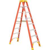 Werner T6208 8' Dual Access Fiberglass Step Ladder 300 lb. Cap