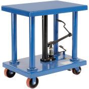 Foot Control Work Positioning Post Lift Table, 6000 Lb. Cap