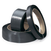 """Hand-Grade Polypropylene Strapping - -1/2""""x9000' - 0.018"""" Thickness - 8x8"""" Core"""