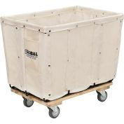 Canvas Basket Bulk Truck, 8 Bushel