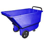 Bayhead 1/3 Cubic Yard Tilt Truck, Heavy Duty, 1200 Lb. Capacity, Blue