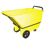 Bayhead 1/3 Cubic Yard Tilt Truck, Heavy Duty, 1200 Lb. Capacity, Yellow