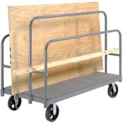 "Panel, Sheet & Lumber Truck with Carpeted Deck, 2400 Lb. Capacity, 60""L x 30""W"