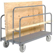 "Panel, Sheet & Lumber Truck with Carpeted Deck, 1200 Lb. Capacity, 60""L x 30""W"