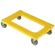 """Plastic Dolly with Flush Deck, 5"""" Casters"""