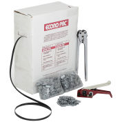 """Pac Strapping Polypropylene Strapping Kit 1/2"""" x 7,200' Coil With Tensioner, Sealer & Seals"""