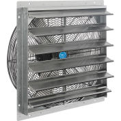 "24"" Exhaust Ventilation Fan With Shutter, Single Speed With Hardware"