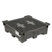 Spill Containment Sump with Wire Deck