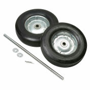 Replacement Semi-Pneumatic 10 Inch Hand Truck Wheel Kit