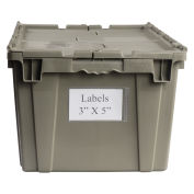 "Shipping Container Label Holder, 5""W x 3""H, 25/Pk"