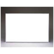 "Ghent Aluminum Frame Non-Magnetic Whiteboard, 18"" x 24"""