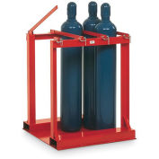 MECO Cylinder Pallet Rack - 6-Cylinder Capacity