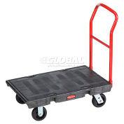 Rubbermaid® Plastic Deck Platform Truck 36 x 24 2000 Lb. Capacity