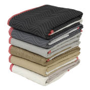 Protective Quilted Moving Blanket Pads - Pkg Qty 12