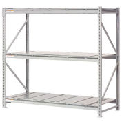 "Extra High Capacity Bulk Rack With Steel Decking, Starter Unit, 72""W x 48""D x 96""H"