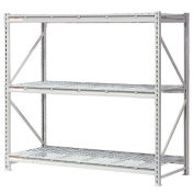 """Extra High Capacity Bulk Rack With Wire Decking, Starter Unit, 72""""W x 48""""D x 72""""H"""
