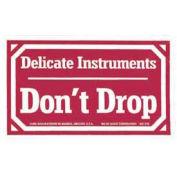 """Labels 3x5"""", """"Delicate Instruments Don't Drop"""""""