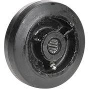 """5"""" x 1-1/2"""" Mold-On Rubber Wheel, 3/4"""" Axle, 1/Pk"""