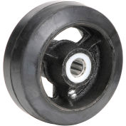 "Mold-On Rubber Wheel - Axle Size 5/8"", 5"" x 2"""