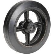 """8"""" x 2"""" Mold-On Rubber Wheel, 5/8"""" Axle, 1/Pk"""