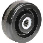 """4"""" x 1-1/2"""" Molded Plastic Wheel, 5/8"""" Axle, 1/Pk"""