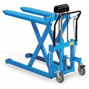 """BISHAMON SkidLift Manual Pallet Positioners - 1100-Lb. Capacity - 20-1/2""""Wx42-1/2""""L Forks"""