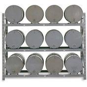 MECO Drum Storage Rack - 12 Drums