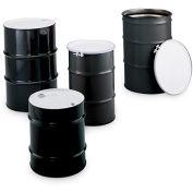 SKOLNIK Carbon Steel Drums - Open-Head Drums - Bolt Ring Closure - 16-Gal. Capacity